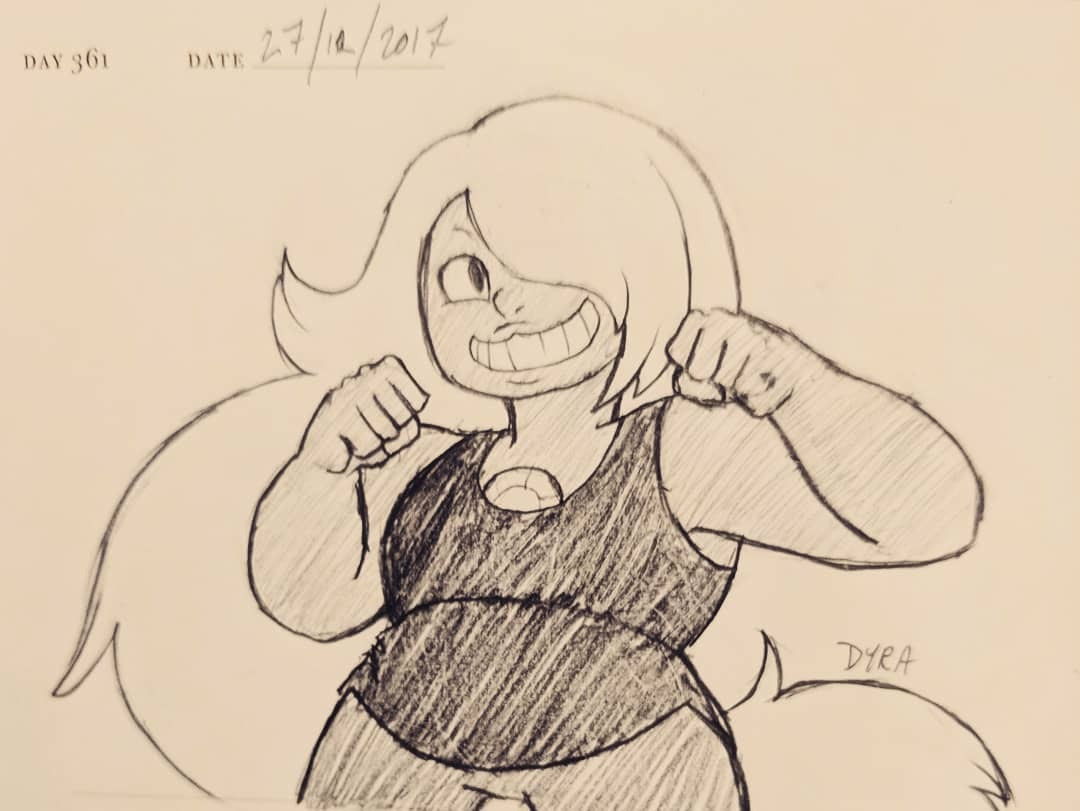 Request pic! Amethyst from Steven Universe for @donnapaella!