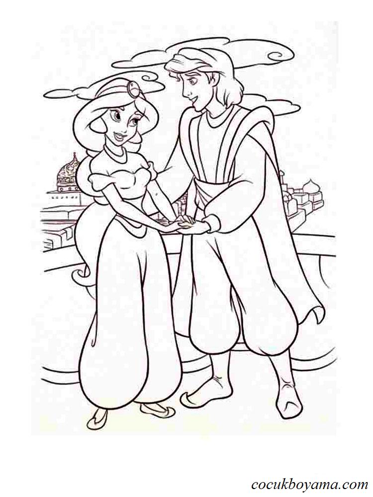 Prenses Yasemin 12 ücretsiz Boyama Resimleri