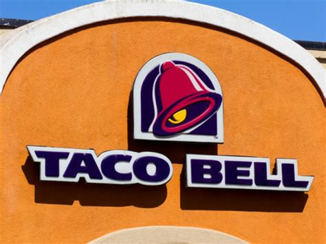 taco bell   healthiest fast food chain taco