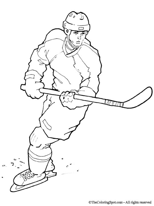 Free Hockey Coloring Book, Download Free Clip Art, Free Clip Art ... | 720x540