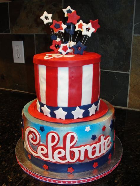 The Shank Family: 4th of July Birthday Cake!