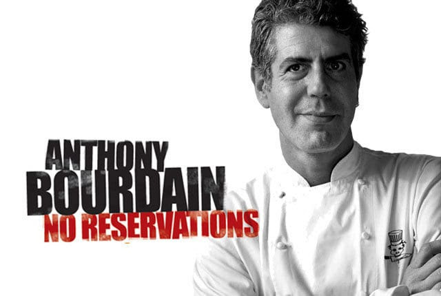 Image result for anthony bourdain no reservations images