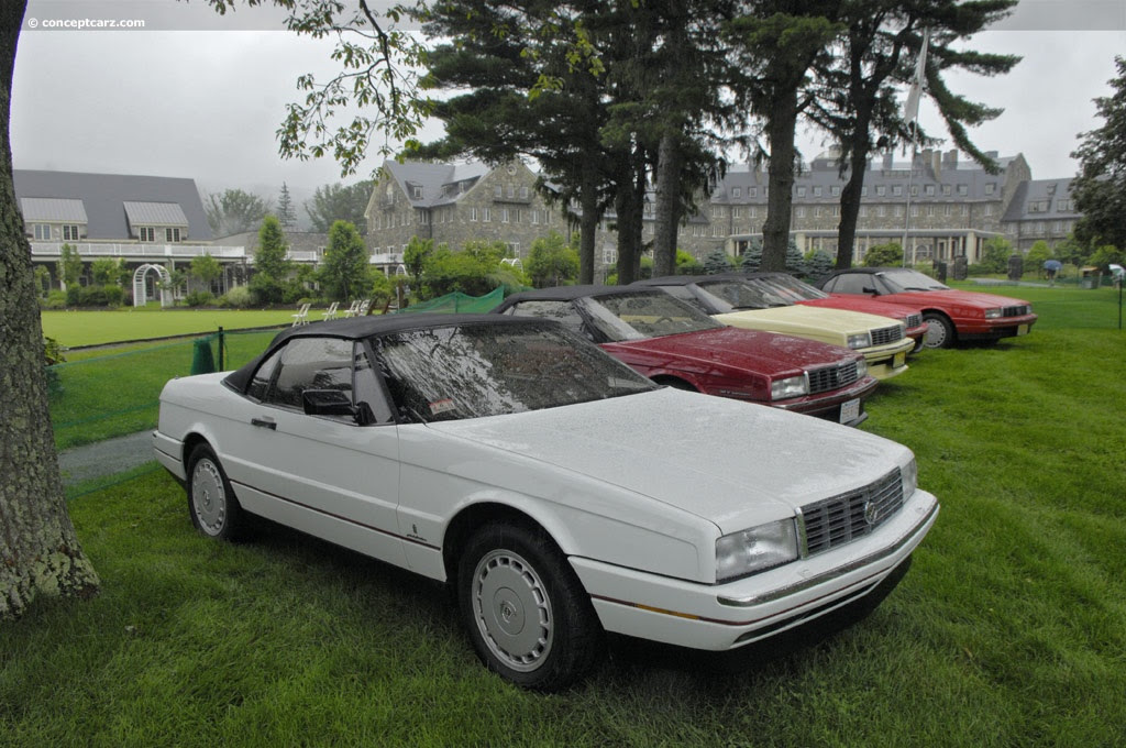 Auction results and data for 1991 Cadillac Allanté ...