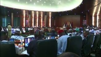 Presa de possessió de 36 nous ministres a Nigèria el novembre passat