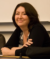 English: Maryam Namazie at a conference/lectur...