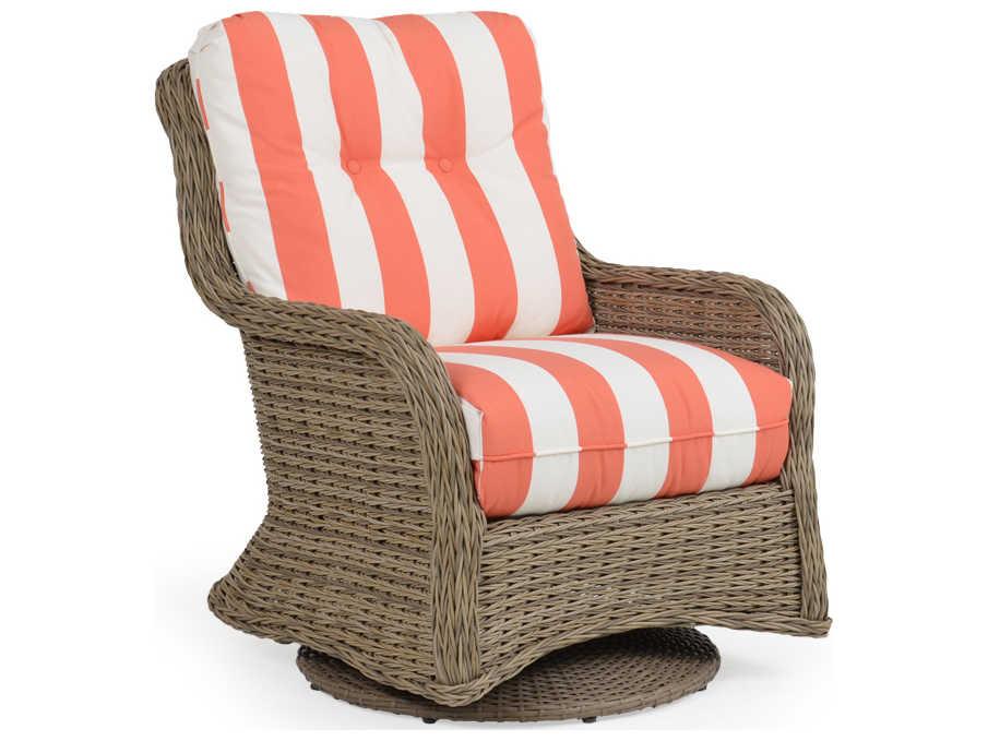 Palm Springs Rattan 4300 Series Swivel Glider Lounge Chair ...
