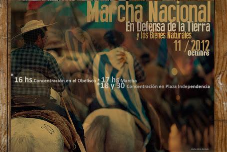 Uruguay /Montevideo/ Marcha Nacional contra la megaminería y el modelo extractivista. En Defensa de la Tierra, el Agua y los Bienes Naturales / 11 de Octubre 2012   MOVUS   Scoop.it