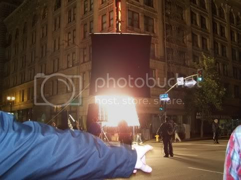 Spiderman 3 filming, 4th and Main