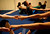Participants warm up with some stretching exercises that involve working with a partner during an acro yoga class -- a combination of acrobatics and yoga -- Monday, Sept. 23, 2013 in Emeryville, Calif. (D. Ross Cameron/Bay Area News Group)