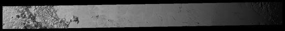 Mosaico LORRI completo que abarca casi toda la llanura Sputnik (NASA/JHUAPL/SwRI/Unmmanedspaceflight.com).