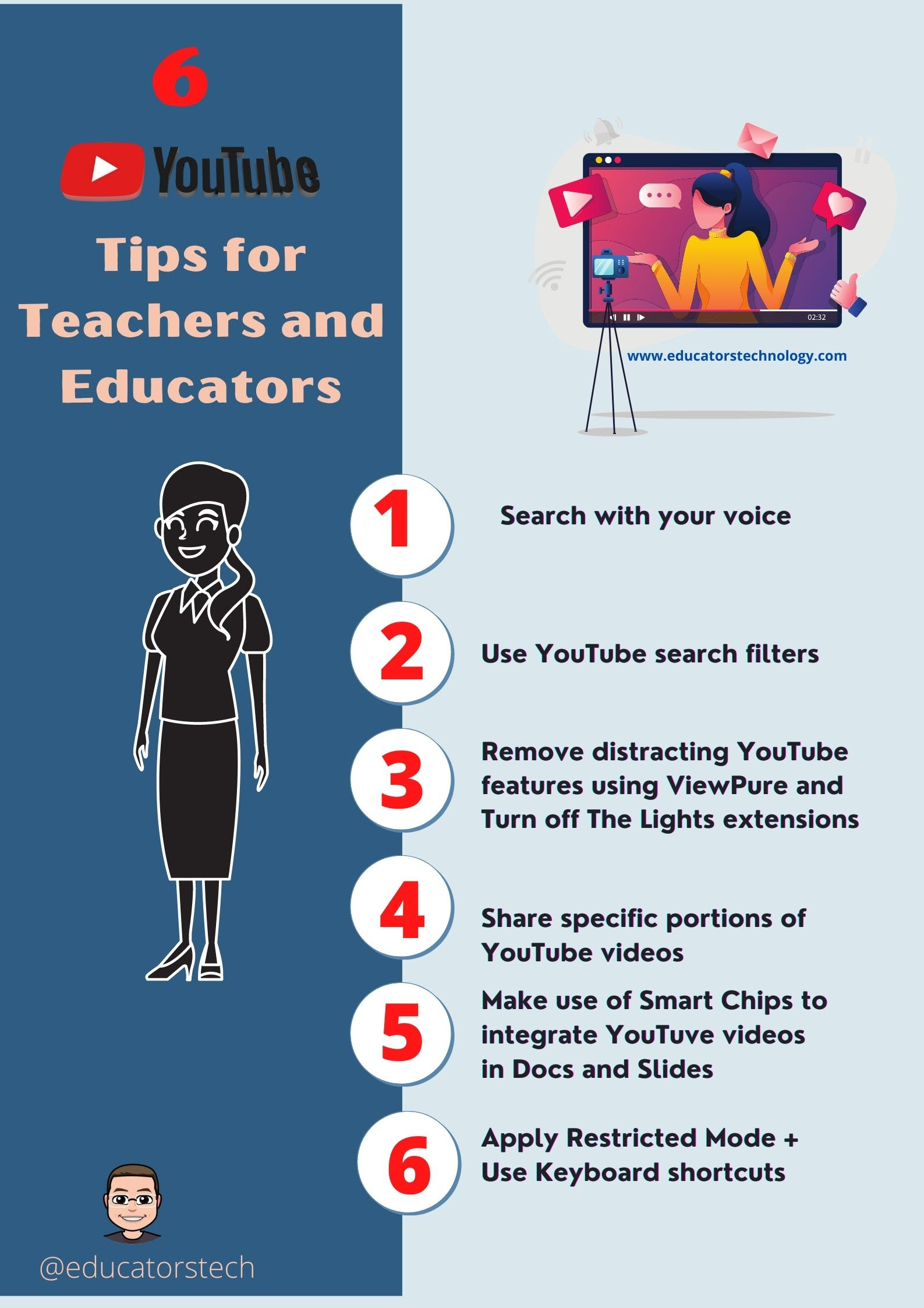 Tips to Help You Turn YouTube Into A Pedagogical Tool to Use in Your Teaching