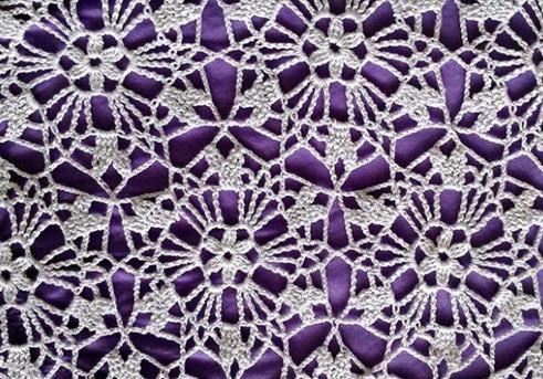 Вязание белого сарафана крючком из мотивов...