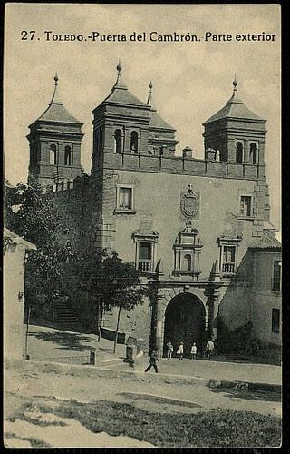 Puerta del Cambrón. Foto Grafos 1923