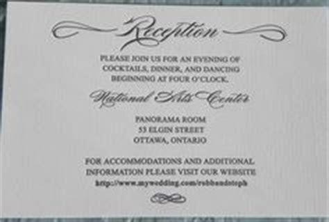 1000  ideas about Reception Card on Pinterest