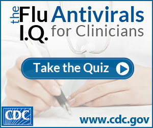 Flu Quiz on Antivirals for Clinicians