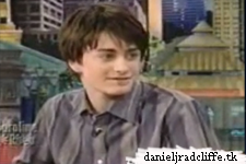 Daniel Radcliffe on the Caroline Rhea Show