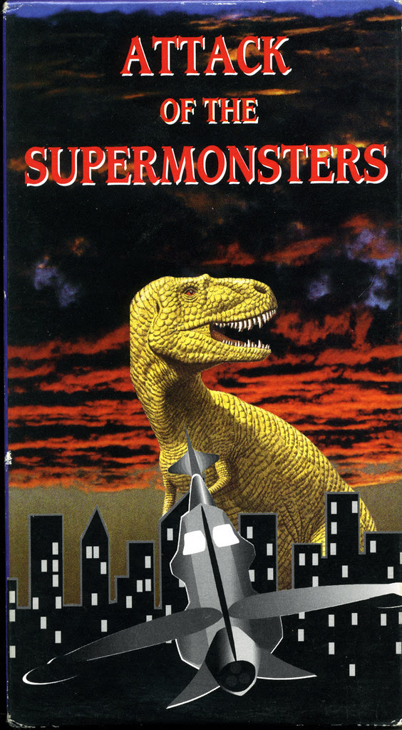 Attack of the Supermonsters (VHS Box Art)