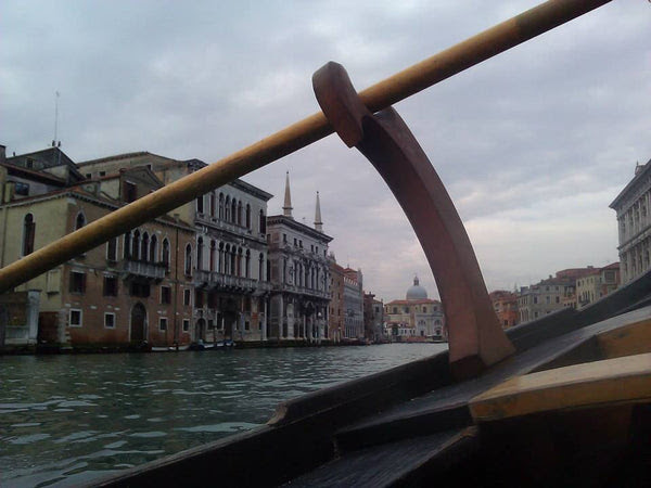 Stand Up Paddling in Venice with gondola