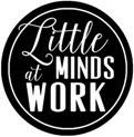 little minds at work button