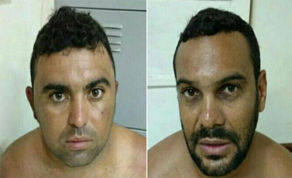Cláudio Moura da Fonseca, de 30 anos, e Renato César Dias, de 33 anos, foram condenados pela morte da universitária (Foto: Divulgação/Polícia Civil)