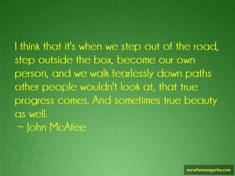 Step Outside The Box Quotes Top 10 Quotes About Step Outside The