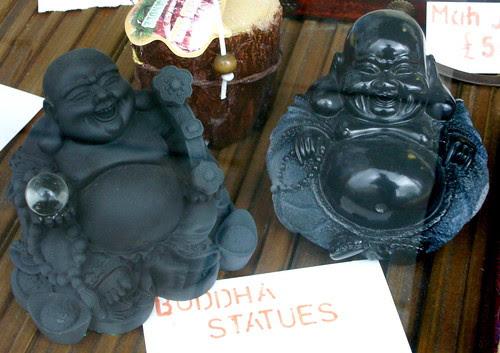 Shiny Buddha and Matt Buddha