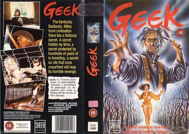 Geek (VHS Box Art)