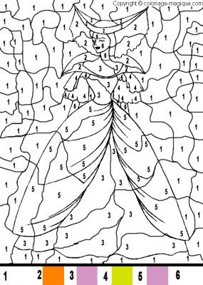 Index Of Albumsphotoscoloriage Magique Princesse