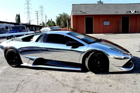Chrome car wrap   Supercars Gym