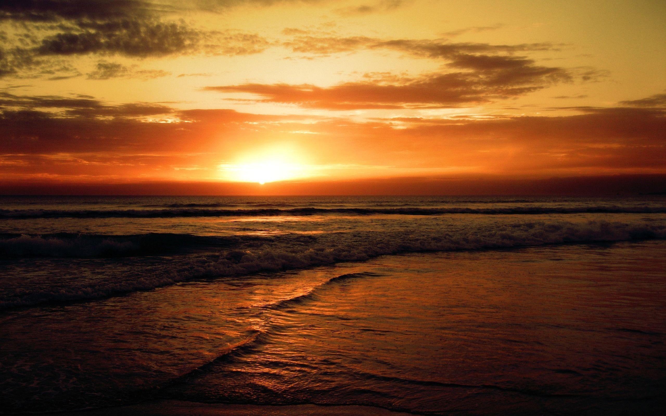 Sunset Beach Backgrounds - Wallpaper Cave