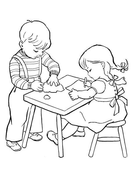 gambar mewarnai anak  belajar