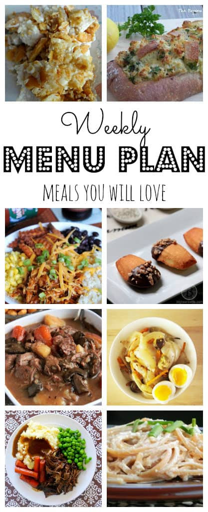 Weekly Meal Plan #41-pinterest