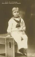 Alfonso de Borbón y Battenberg, Prinz von Asturien 1907 – 1938