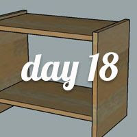 DIY Nightstand Day 18
