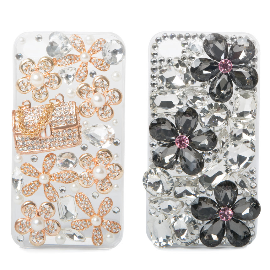 CHEAP Justfab Accessories Bling Bling Iphone Case Set Womens Multi Size OSFM OFFER