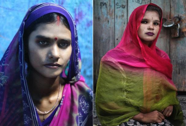 Cerca de 12 mil garotas se prostituem na favela de Sanogachi (Foto: Souvid Datta)