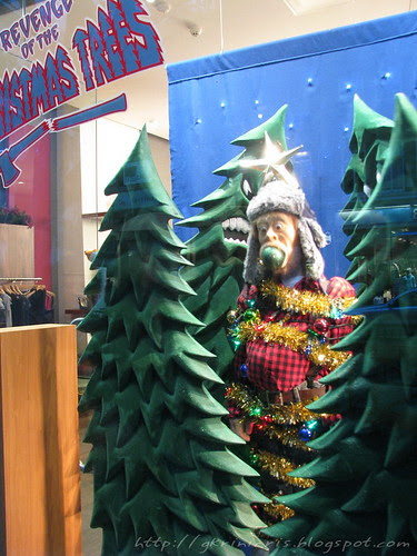 Revenge of the Christmas Trees