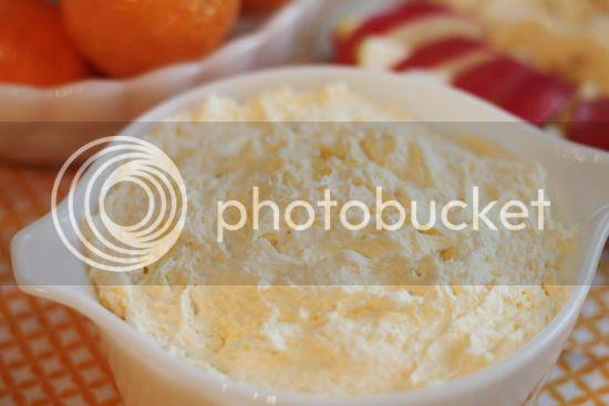 Orangesicle Fruit Dip using simple ingredients