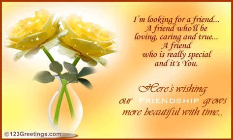 I've Found A Friend  In You! Free Hello eCards, Greeting