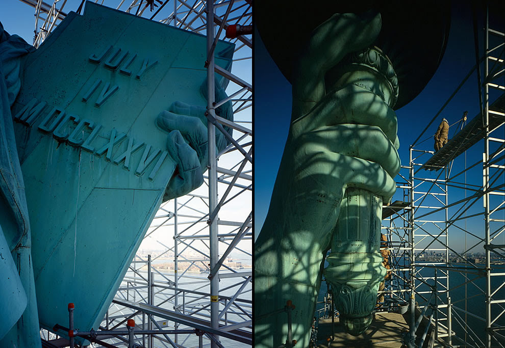 Americas Most Iconic Statue Lady Liberty 55 Pics