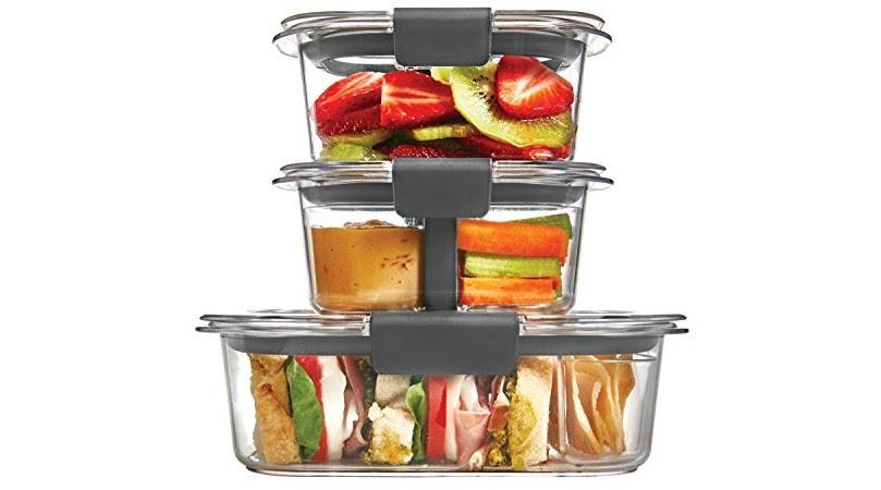 Rubbermaid Brilliance Food Storage Container, 10-Piece ...