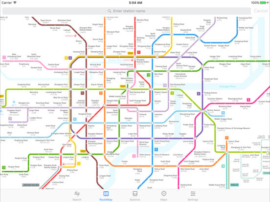 Metro Shanghai Subway - appPicker