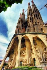 Sagrada Familia Barcellona, foto di Wolfgang Staudt