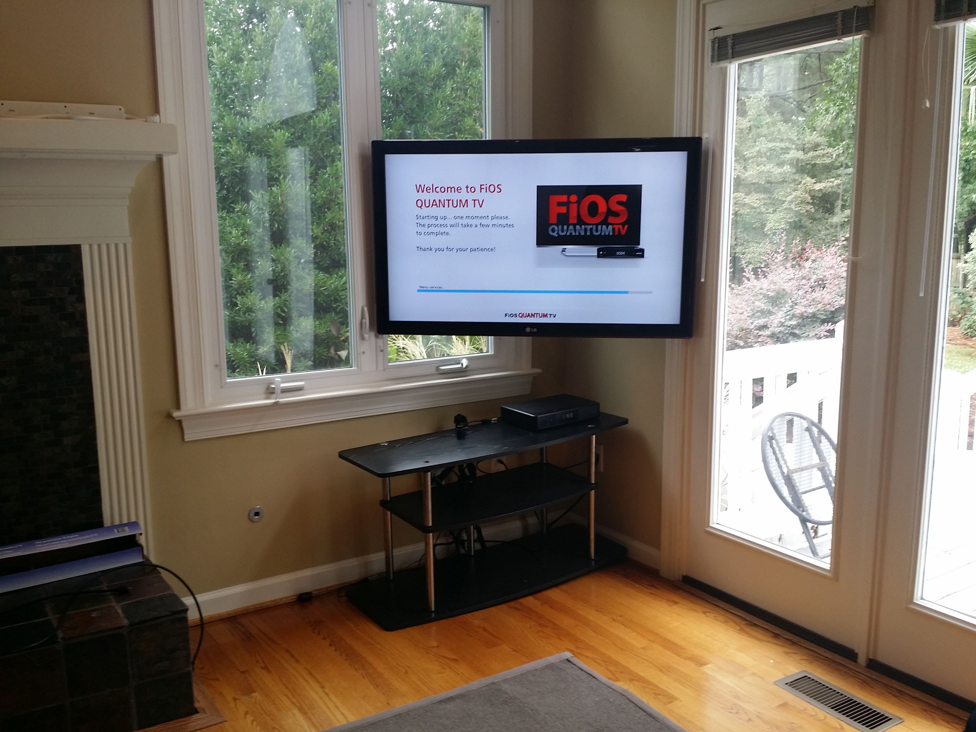 Have And Awkward Setup And Need Your Tv Mounted In The