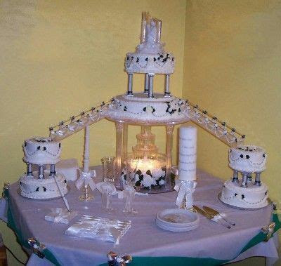 25  best ideas about Fountain wedding cakes on Pinterest