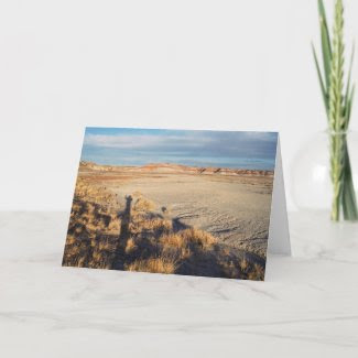 Desert Wave Wish You Were Here card card