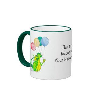 Dragon Personalisable Mug mug