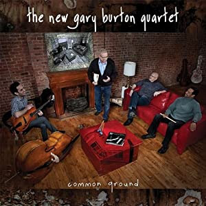 New Gary Burton Quartet - Common Ground  cover