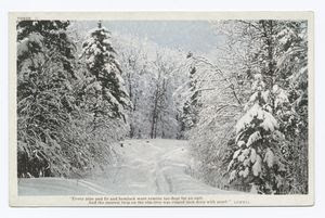 Snow Scene Digital ID: 74120. New York Public Library