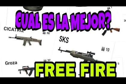 Las Mejores Armas De Free Fire Para Ganar